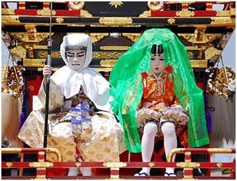 白虎台子供歌舞伎の画像